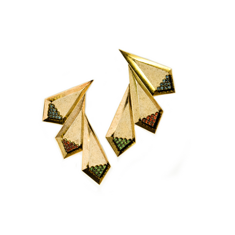 Cliffbar Earrings