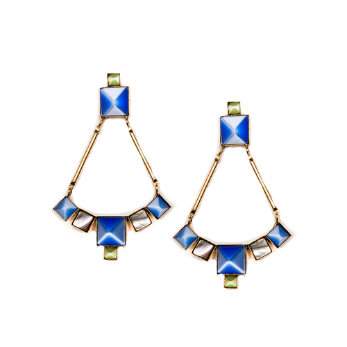 Blissmine Earrings Gold