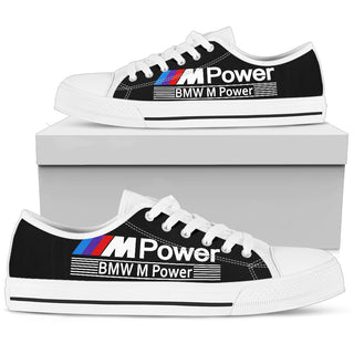 BW M POWER White Low Top