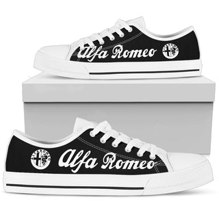 AR Black White Low Top