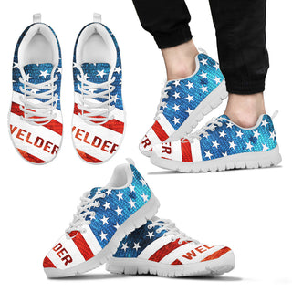 PROUD TO BE AMERICAN WELDER sneaker