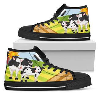 SHOE FARM COW MILK
