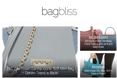 best handbag blog - bag bliss