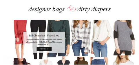 Best Hanbag Blogs - Designer Bags & Dirty Diapers