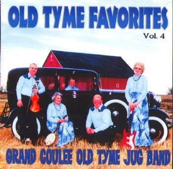 Grand Coulee Old Tyme Jug Band - Old Tyme Favorites Vol 4<br>SSCD 535