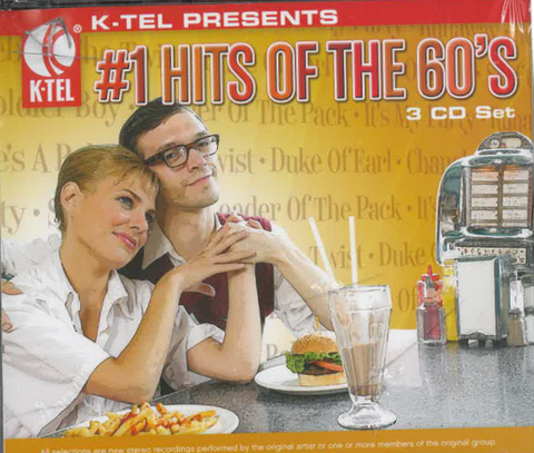 #1 Hits Of The 60's - 3 CD Set