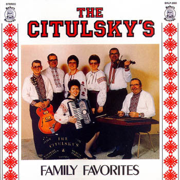 Family Favorites - The Citulsky's<BR>BRCD 2001