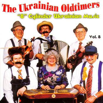 8 Cylinder Music - The Ukrainian Oldtimers<br>BRCD 2052