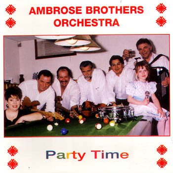 Party Time - Ambrose Brothers<br>BRCD 2054