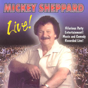 Live - Mickey Sheppard<br>BRCD 2075