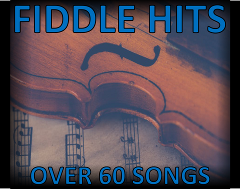 FIDDLE HITS - 4 CDS FOR $6.98