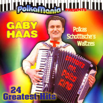 Gaby Haas - 24 Greatest Polka Hits<BR>pmcd 9002