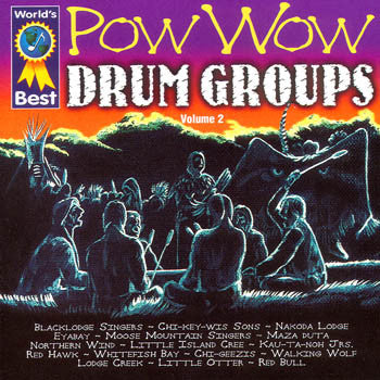 World's Best Pow Wow Drum Groups Vol 2<br>sscd 4455