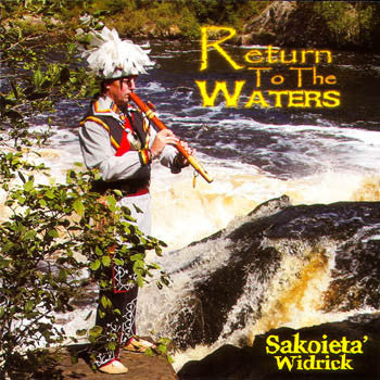 RETURN TO THE WATERS - Sakoieta Widrick<BR>sscd 4514
