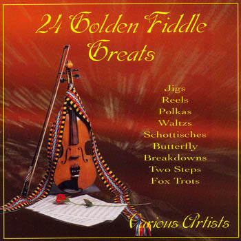 24 Golden Fiddle Greats - Various Artists<br>sscd 493