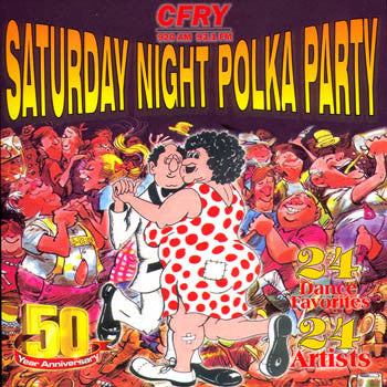 Saturday Night Polka Party - Various Artists<br>sscd 526