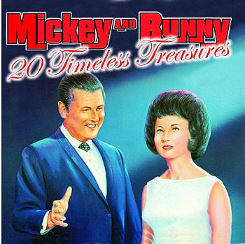 Timeless Treasures - Mickey & Bunny
