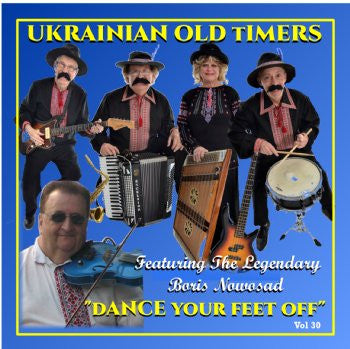 Dance Your Feet Off - The Ukrainian Oldtimers ft Boris Nowosad<br>BRCD 2171