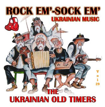 Rock Em Sock Em - The Ukrainian Oldtimers<br>BRCD 2170