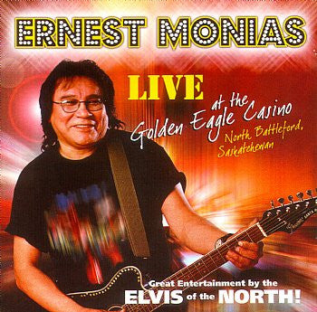 Live At The Golden Eagle Casino - Ernest Monias<BR>SSCD 4444