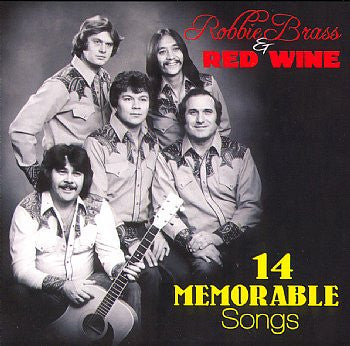 14 Memorable Songs - Robbie Brass & Red Wine<br>sscd 4548