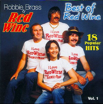 Robbie Brass & Red Wine - 18 Greatest Hits Vol 1<BR>sscd 4550