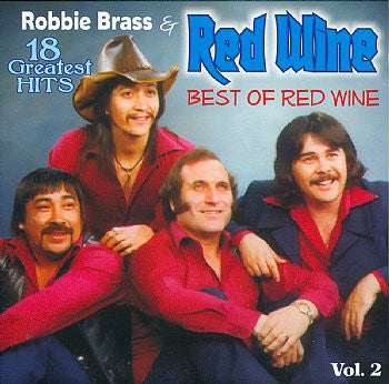 Robbie Brass & Red Wine - 18 Greatest Hits Vol 2<BR>sscd 4552