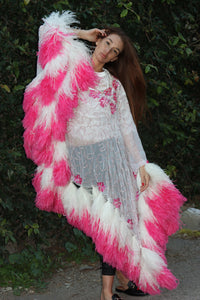 Feather Boa Kaftan