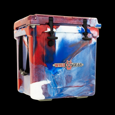 Wyld One Hard Cooler 25Q All American