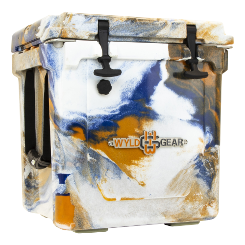 Wyld One Hard Cooler 25Q Orange & Blue
