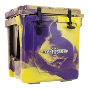 Wyld One Hard Cooler 25Q Purple & Gold