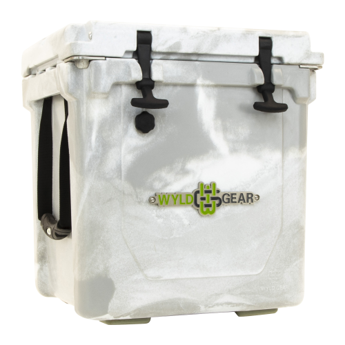 Wyld One Hard Cooler 25Q White & Grey