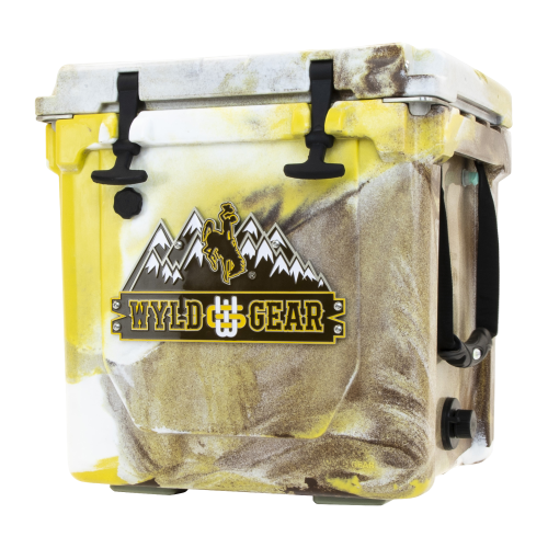 Wyld One Hard Cooler 25Q Wyoming Yellow