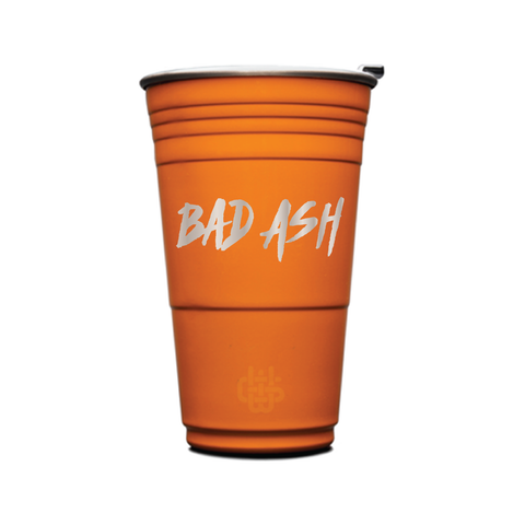 Dj Bad Ash - Wyld Cups Burnt Orange Default