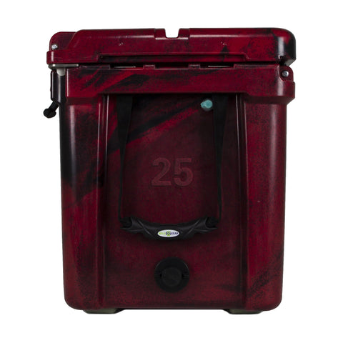 Ike Approved Wyld One 25Q - Crimson Hard Cooler