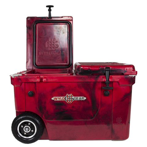 Ike Approved 50Q Dually - Crimson Hard Cooler
