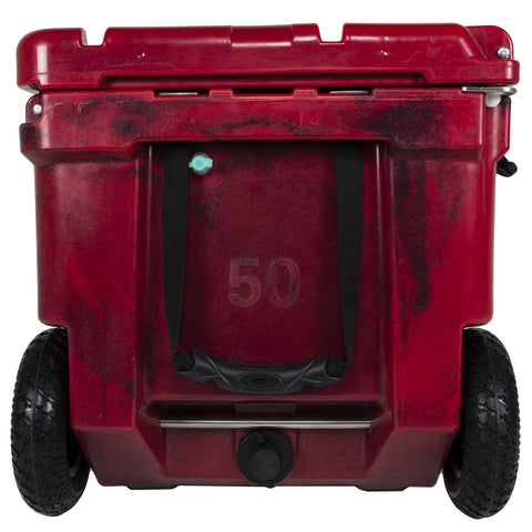 Ike Approved 75Q Pioneer - Crimson Hard Cooler