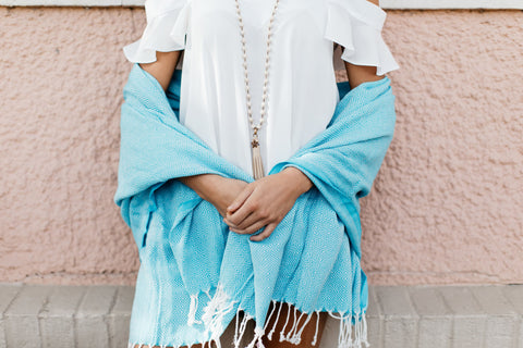 Turkish Towel Shawl