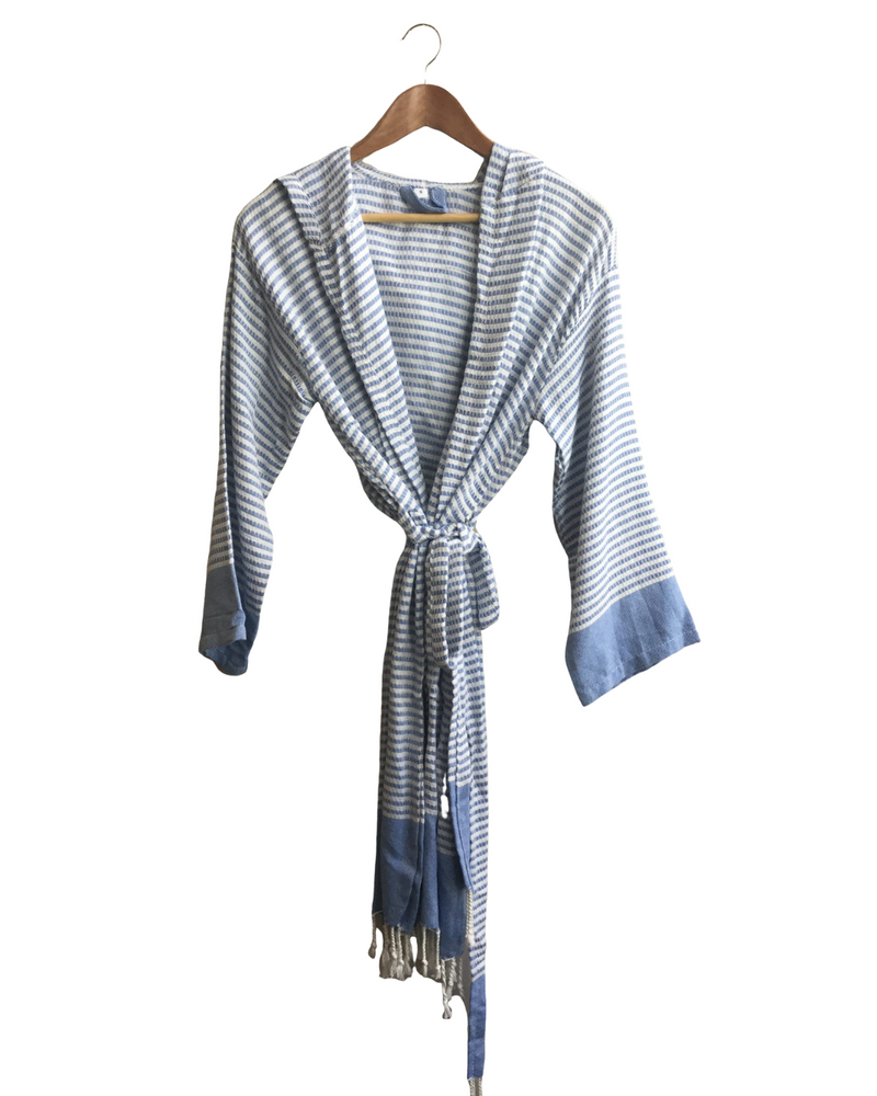 So. Cal Striped Bathrobe