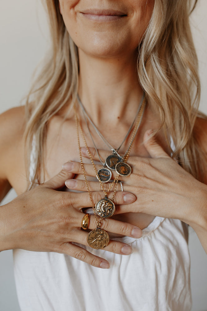Byzantine Coin Necklaces