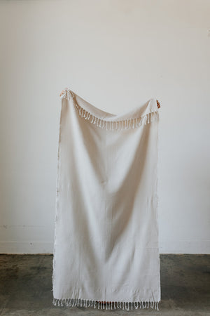 Load image into Gallery viewer, Waffle Weave Turkish Towel in Cloud