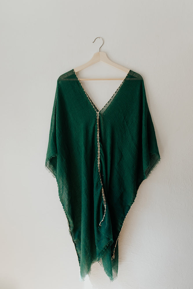 Tunic Dress in Emerald