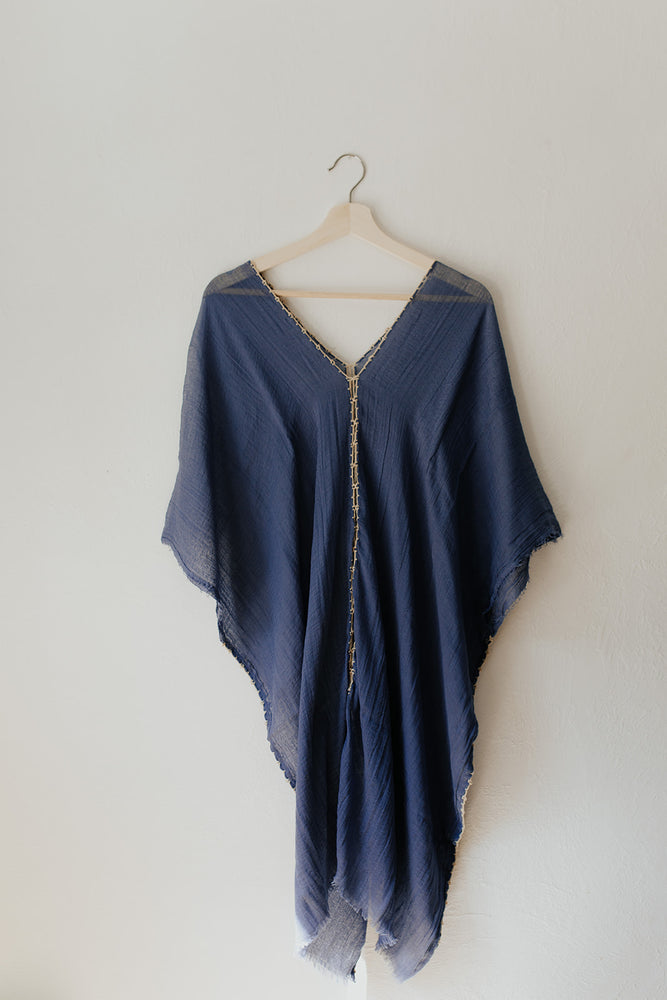 Soft Tunic Dress in Lapis