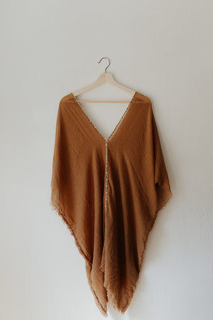 Tunic Dress in Camel