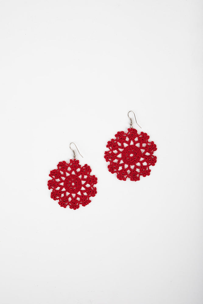 Load image into Gallery viewer, Crochet Earrings