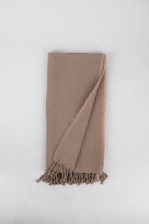 Load image into Gallery viewer, Waffle Weave Turkish Towel in Blush