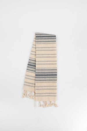 Ribbon Hand Towel in Lapis