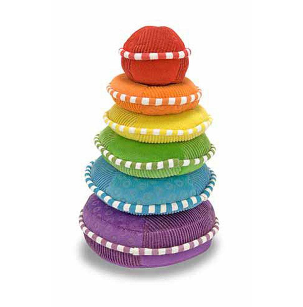 Melissa & Doug Soft Rainbow Stacker