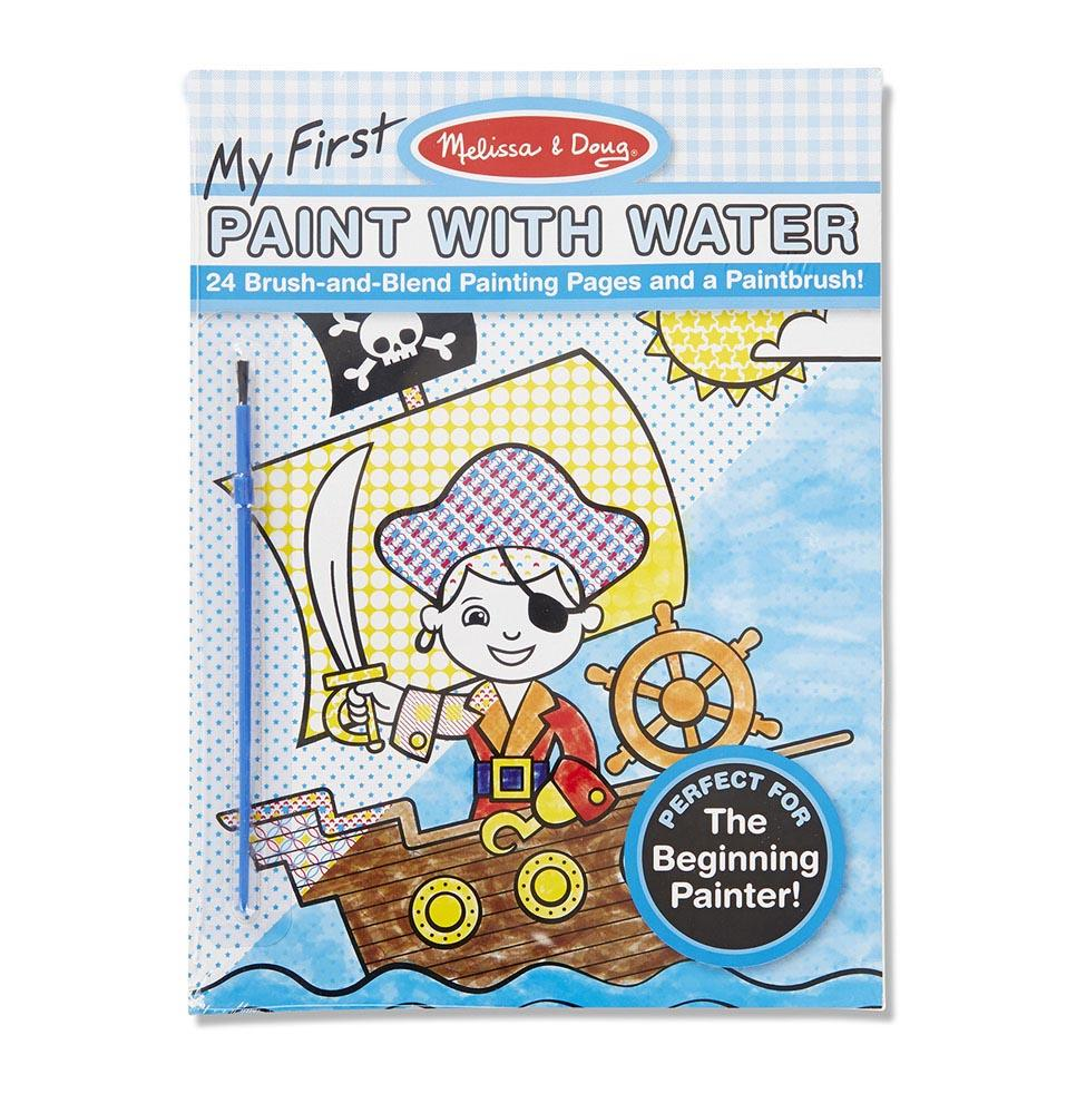 Melissa & Doug Paint with Water - Pirates, Space, Construction & More