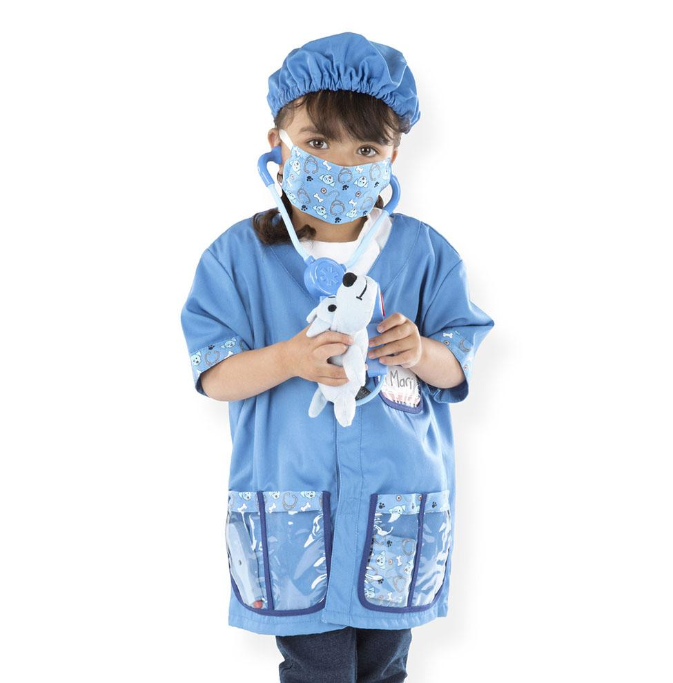 Melissa & Doug Role Play Costume Set Veterinarian